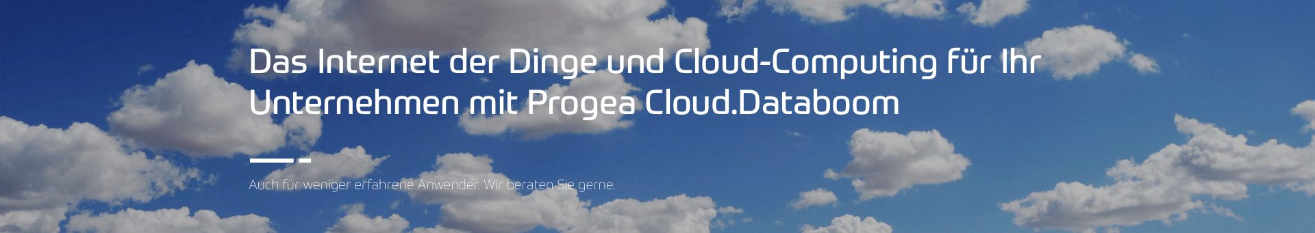 Progea Cloud computing